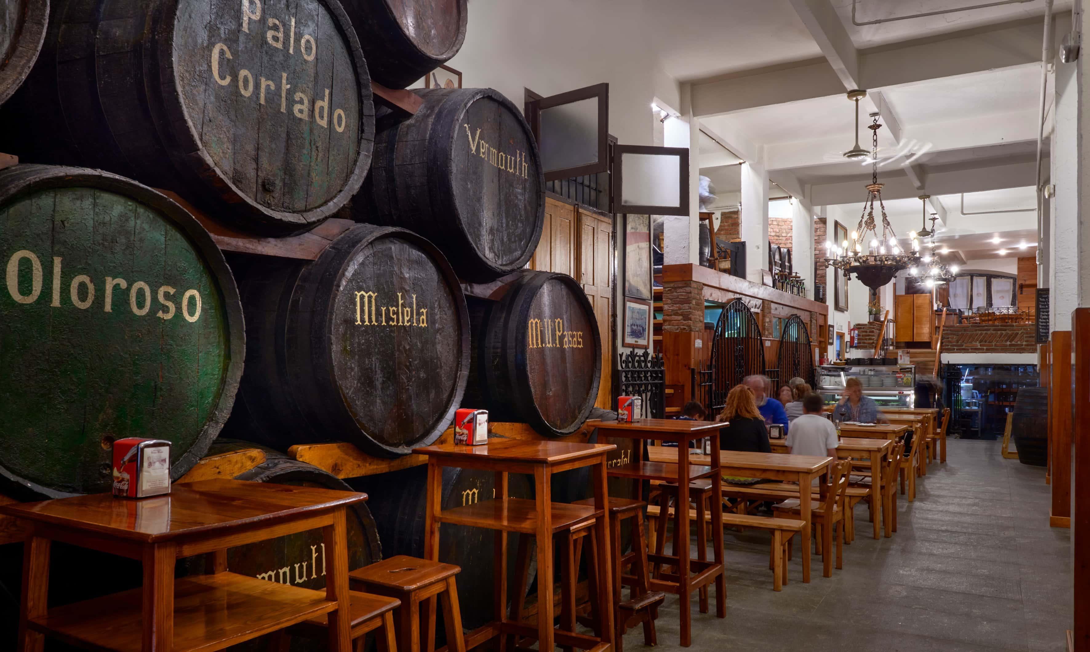 RestaurantBodegas Mazón: Anexperiencefor the senses