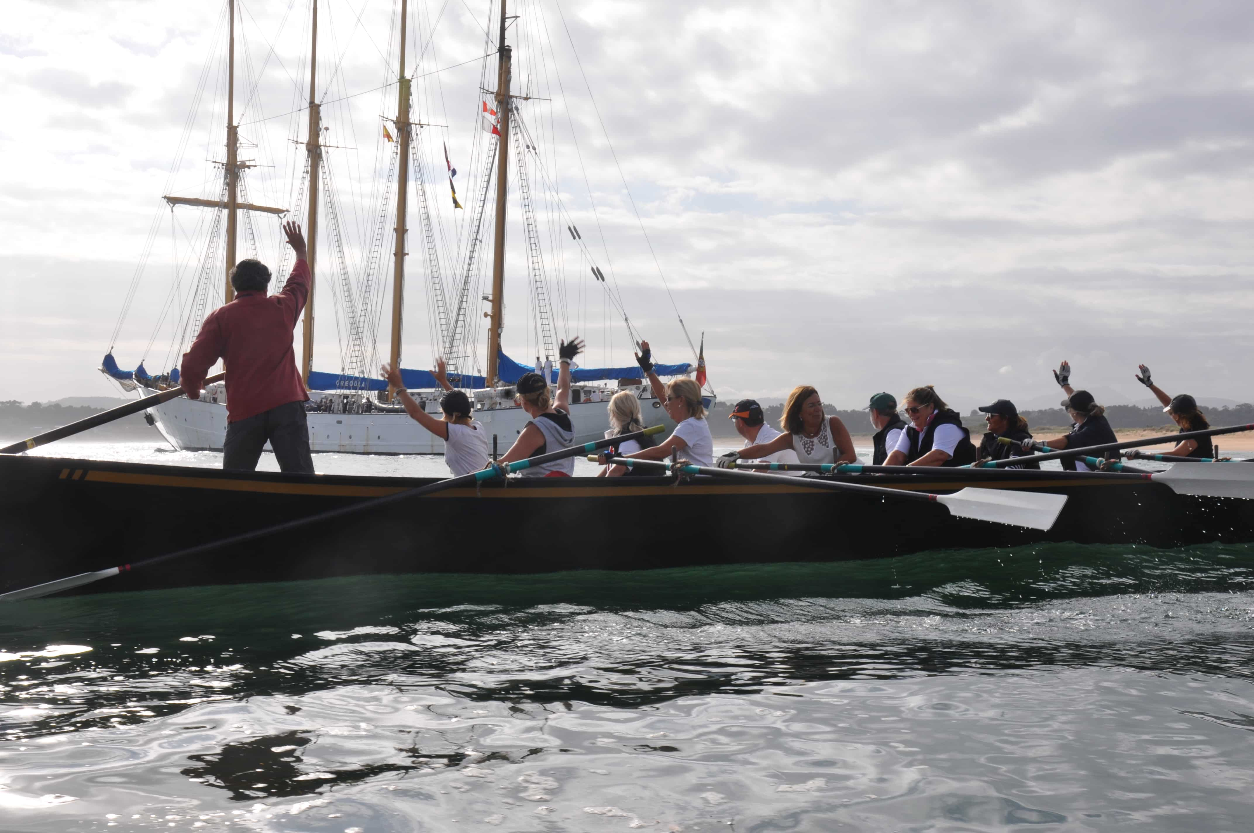 The'Navigatio Santander' comes a little closer