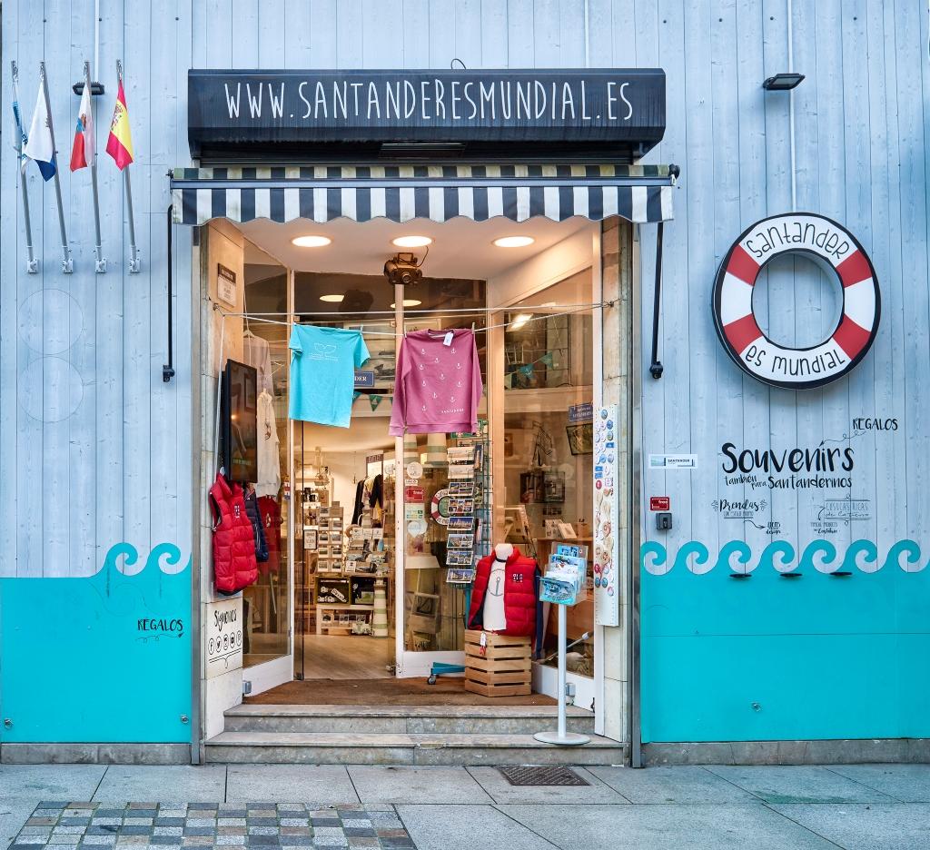 Tienda de regalos y souvenirs de Santander