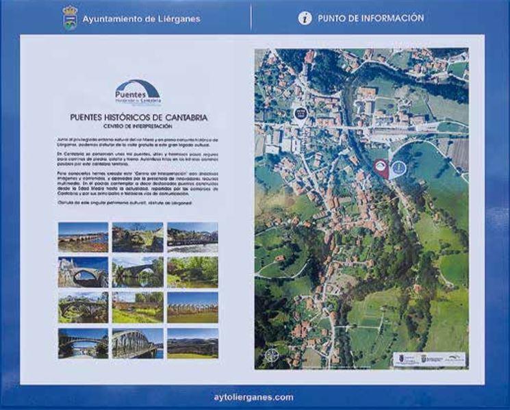 Panel Informativo _Oficina de Turismo de Li'erganes